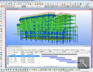 We use Tekla software that enables the creation and management of accurately detailed, highly constructable 3D structural models regardless of material or structural complexity.