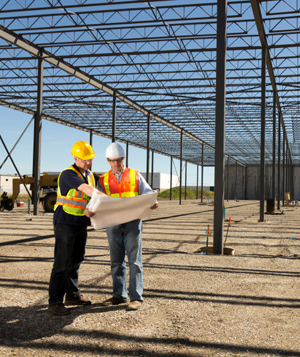 Site Supervisor for Steel Building Construction